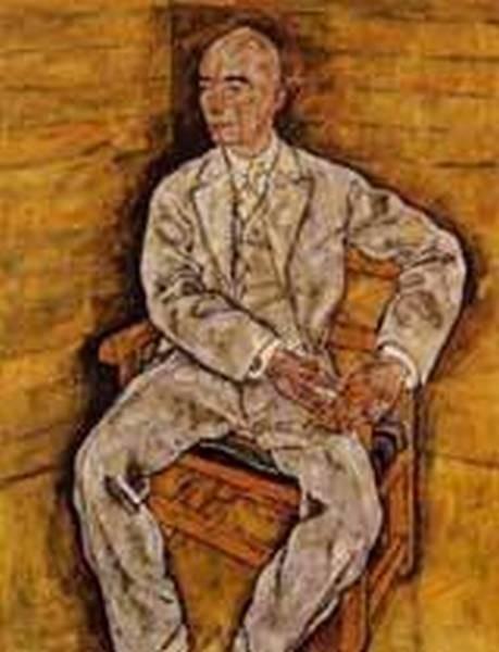 Portrait of Victor Ritter von Bauer 1918